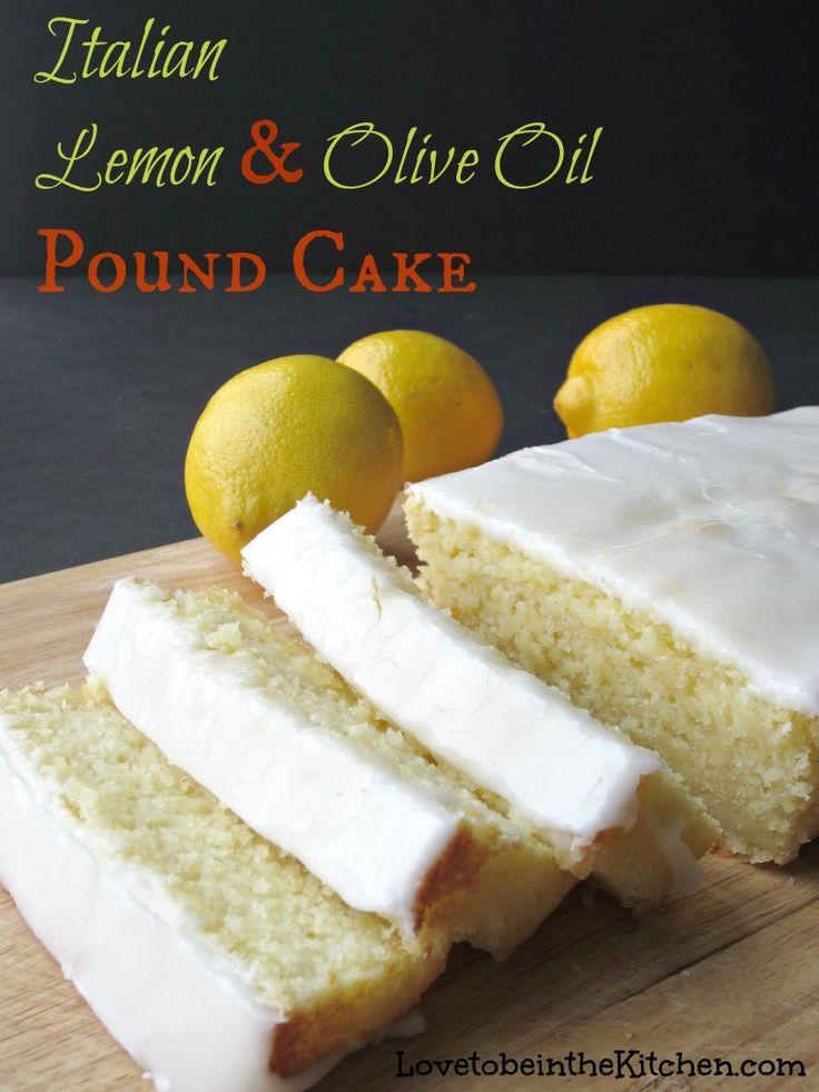 Lemon cake recipe with olive oil