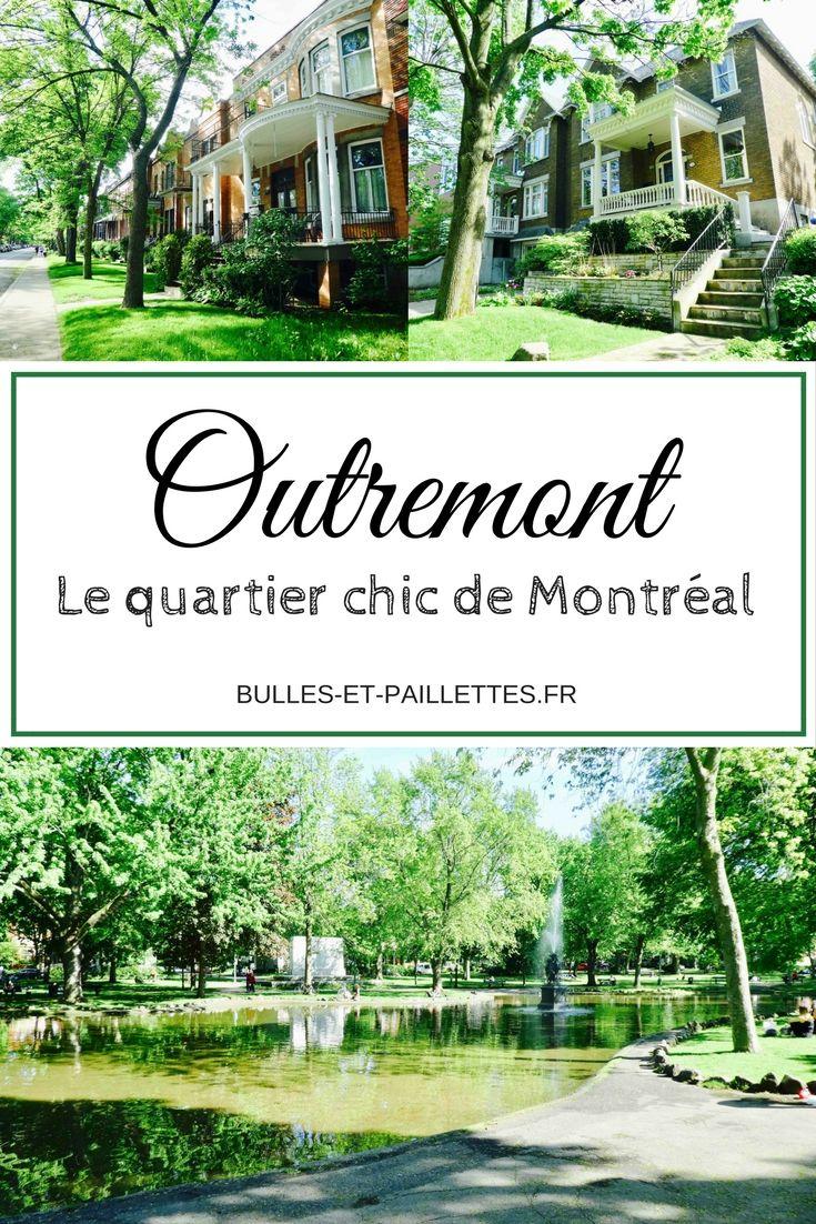 Montréal est décidément une ville aux multiples facettes. Outremont est un quartier plutôt huppé, mais surtout très verdoyant. Pour en savoir plus, rdv sur le blog ;-)