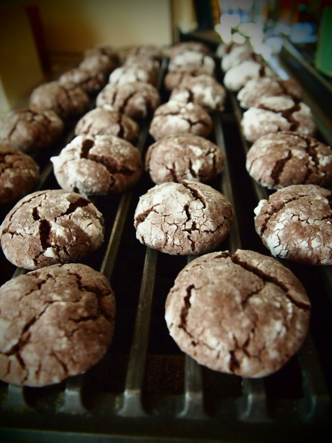 Chocolate cake batter cookies!!