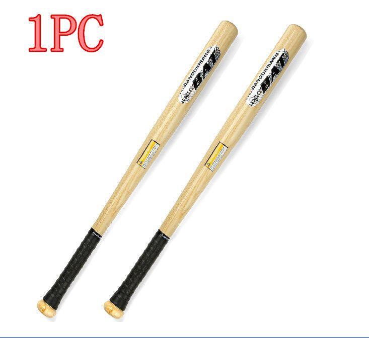 1 pc Marca De Madeira Sólida Durável beisbol bate madeira Taco de Beisebol taco de basebol Softball beisebol Hardball 64/74/84 cm