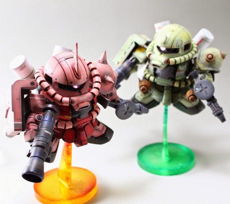 1000+ Ideas About Custom Gundam On Pinterest
