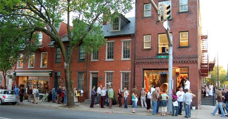 Shopping in Lancaster Pa For nearly 275 years, people have come together in Lancaster City for entertainment, social, creative enrichment and great shopping and dining experiences.