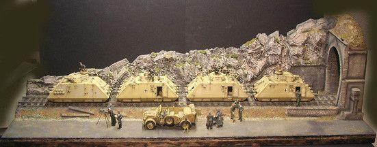 Panzertriebwagenzug II - www.panzer-bau.de/diorama/militär/1:35