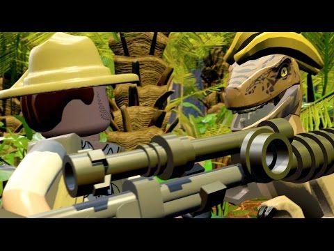 LEGO Jurassic World - Gameplay Trailer