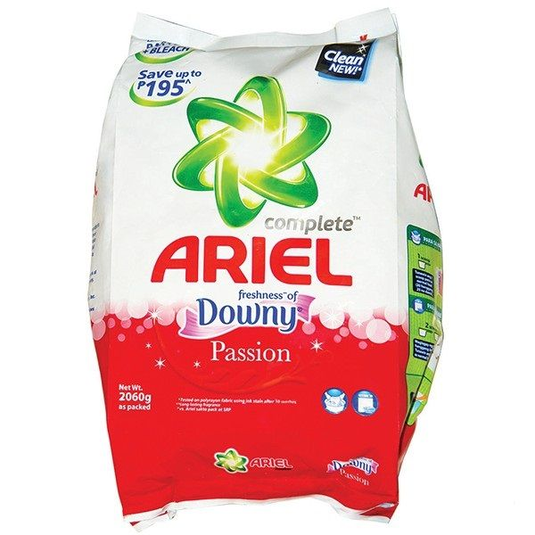 Ariel Complete With Fragrance Of Downy Detergent Powder 2 06kg