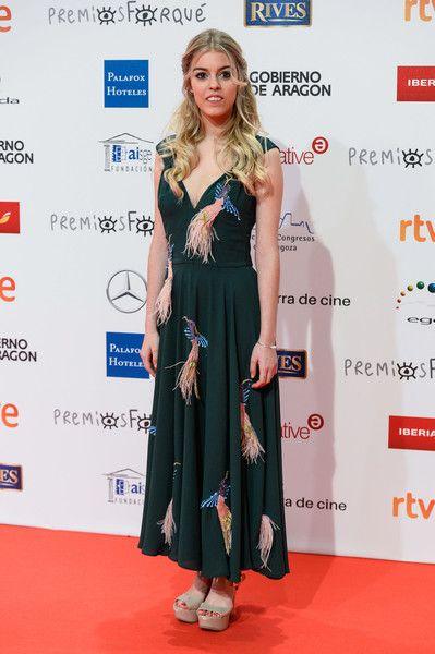 Nerea during the 23rd edition of Jose Maria Forque Awards at Palacio de Congresos on January 13, 2018 in Zaragoza, Spain.