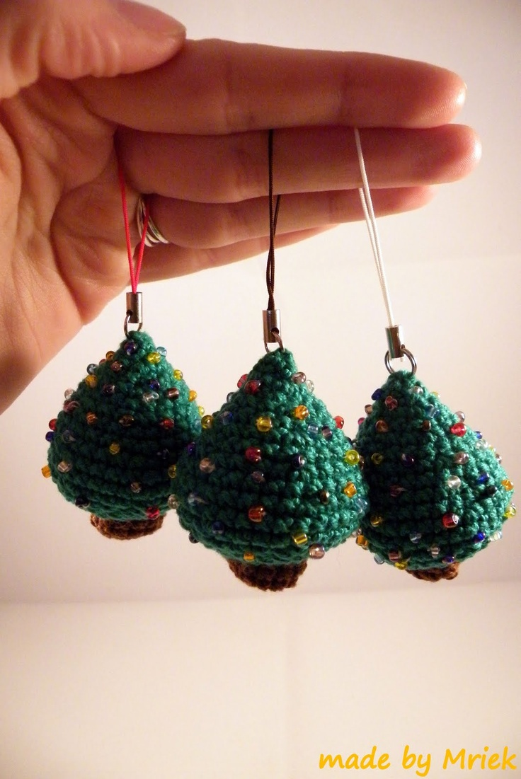 DIY christmas ornaments crochet