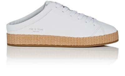 f1d24b4fe68aa RAG & BONE RB1 Leather Mule Sneakers. #ragbone #shoes # | Rag & Bone ...