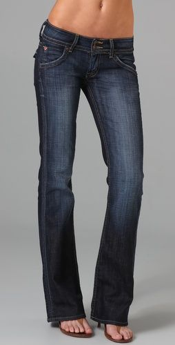 Hudson Signature Boot Cut Jeans... I used to have this awesome pair of light blue velour Hudson pants. I loved them!