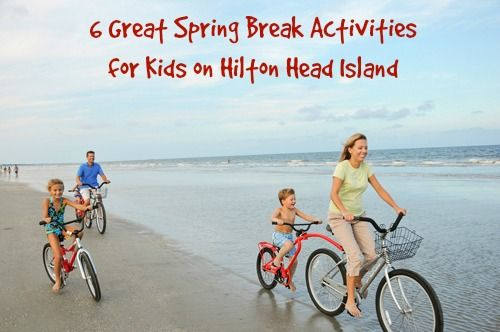 6 Great Spring Break Activities for Kids on Hilton Head Island | @PalmettoDunesSC