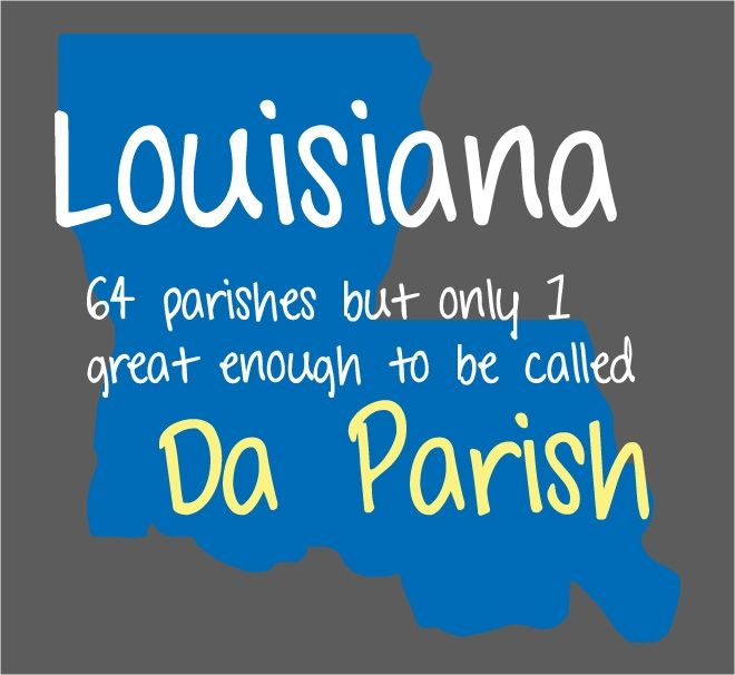 Out of 64 parishes St. Bernard get shows lots of love being known as Da Parish: Things Louisiana, Nola 504, Orleans Louisiana, Favorite Places, Da Bayou, Sweet Nola, Louisiana Living, Da Parish, Louisiana Woman