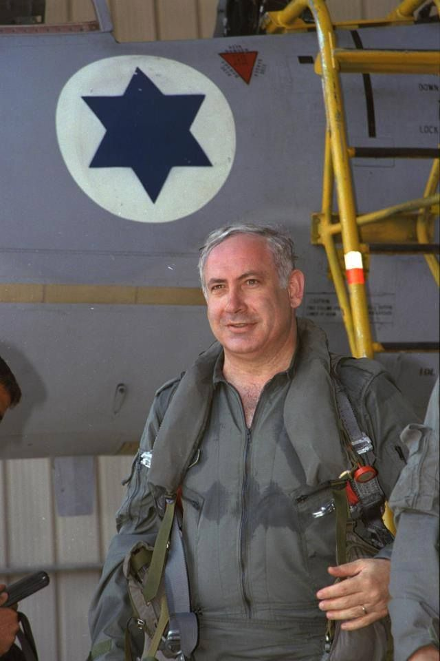 """THIS IS WHAT A TRUE HERO LOOKS LIKE....., This is the Israeli PM…a former commando who is leading the world in the fight against Iranian terror"" Facebook.com"