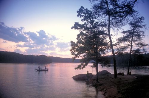 Red Top Mountain State Park located on 50 Lodge Road | Acworth, GA 30102 | 770-975-0055 | This popular destination on 12,000-acre Lake Allatoona is ideal for swimming, boating and fishing. Hikers and bikers can explore 15 miles of trails. History and nature programs are offered throughout the year. http://gastateparks.org/RedTopMountain