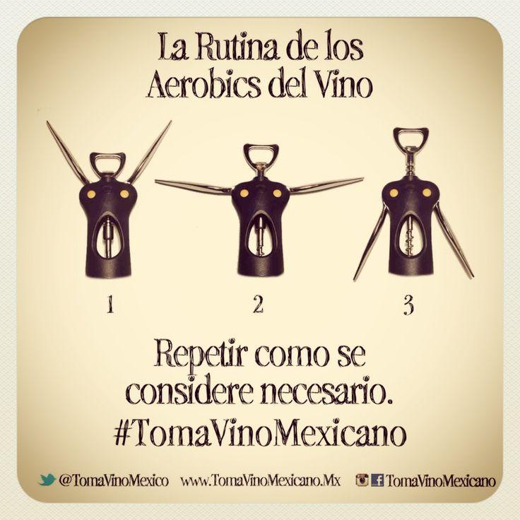 Aerobics & vino