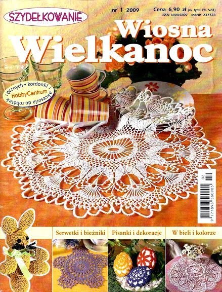 *eastern crochet* Szydełkowanie 1.2009 - Zosia32 - Picasa Web Albums