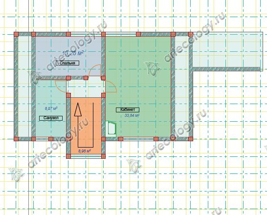 Мансардный этаж дома на склоне или третий по счету