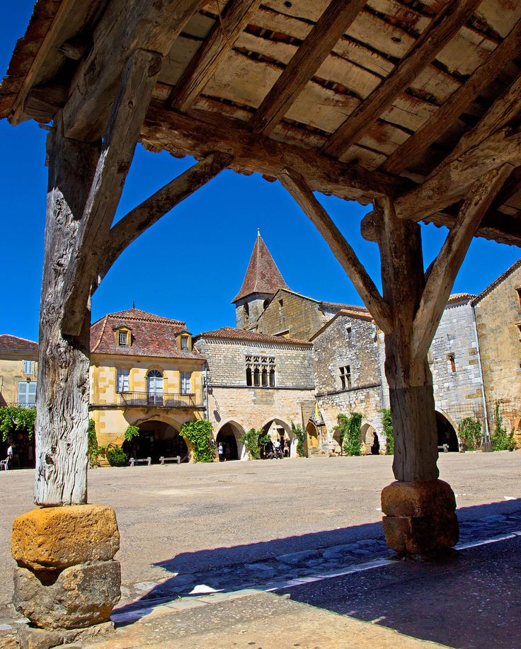 Monpazier, Aquitaine, France