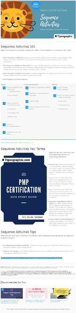 PMP CERTIFICATION 2018 — free online training (pmbok 6, pmbok sixth, pmbok 6th edition, pmbok 6th, pmbok 2018, pmp 2018, pmp exam 2018, agile, agile 2018, project management, pmp free online course, pmp free online prep, pmp free online training). Read more on Tipsographic.com
