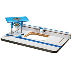 HPL Router table top, fence and lift