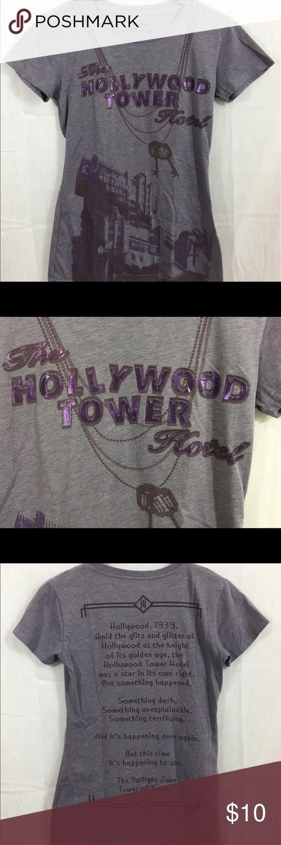 Ladies XS Disneyland Hollywood Hotel BurnOut T Licensed  Disneyland Resort Purple BurnOut T-shirt  in a ladies XS. Will bundle w/ 15% off 2 or more items! Disney Tops Tees - Short Sleeve