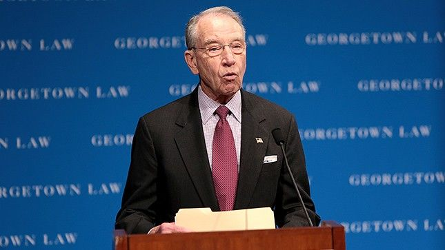 Grassley: Senate 'very close' to deal on criminal justice reform | TheHill