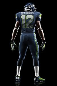 New Seahawks uniform