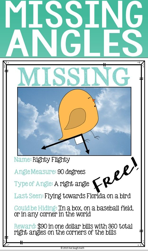 26 best Live Laugh Math FREEBIES! images on Pinterest Math - make a missing poster