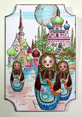 Another Babushka Scene (by Anne)