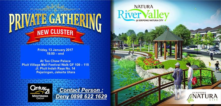 Further Information, Please Contact : Century21 Mediterania Group: Hotline : 0857 7030 9000 Phone : (021 669 9000) or (021 669 8000)