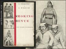 VOSKOVEC & WERICH: SMOKING REVUE. - 1928. Vest pocket o 16 obrazech.