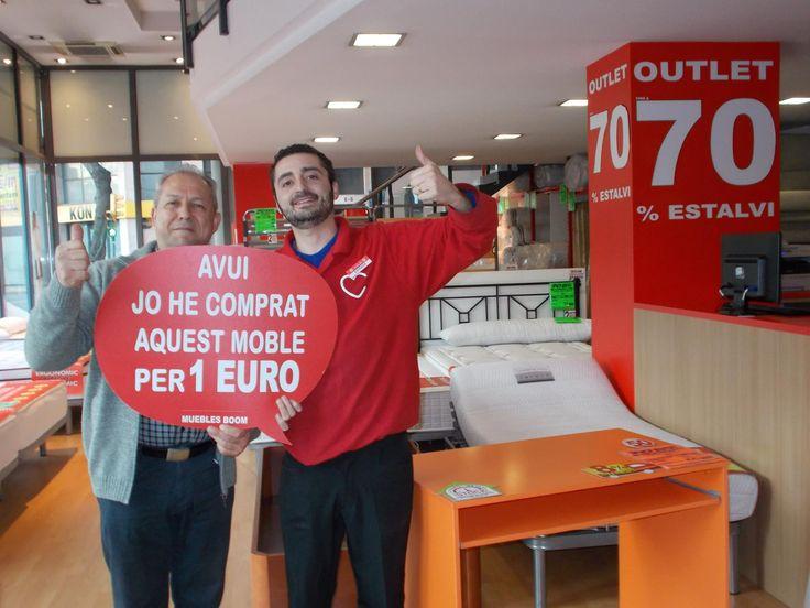 El s bado lluis p se compr por solo 1 euro esta mesa de escritorio en nuestra tienda de - Muebles boom 1 euro ...
