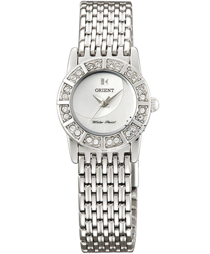 ORIENT Crystal Ladies Stainless Steel Bracelet  Τιμή: 115€  http://www.oroloi.gr/product_info.php?products_id=31315