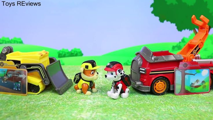 "Paw Patrol Mission Rescue Rubble and Marshall Save Giant Beached Whale Learning Animals Paw Patrol Mission Rescue Rubble and Marshall set save a giant beached whale and then fall into the ocean by ToysReviewToys. Zuma finds a beached whale. The Paw Patrol Mission Rescue vehicle with Rubble and Marshall save the whale. Chase with Rocky and Skye attempt to rescue the whale. The Paw Patrol rescue the animal and Marshall falls into the ocean. This video is made the ""ToysReviewToys"" channel in…"