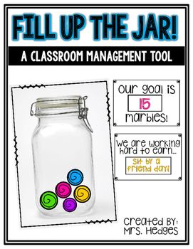 **NOW EDITABLE-The reward cards are now editable so you can add whatever goals work best for your kiddos! This classroom management tool can be used in many different ways. Students can earn marbles throughout the day to earn different kinds of rewards.
