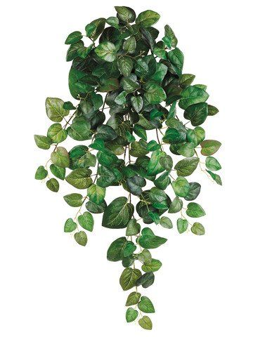 """Artificial Swedish Ivy Round Hanging Bush in Green<br>32"""" Long"""