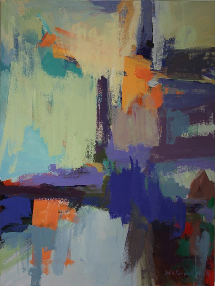 """Messages    40"""" x 30""""   by John Campbell"""