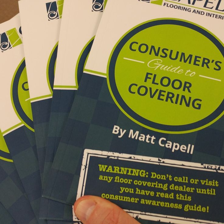 Consumer Guide Book: 16 Best Consumer's Guide To Flooring