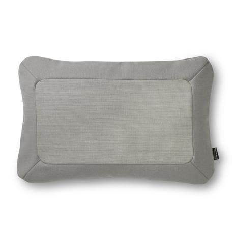 Frame Cushion 40 x 60 cm, light grey