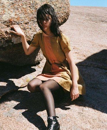 Gold Copper Theoretical Dress