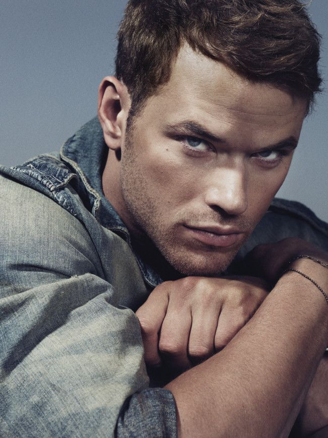 "Kellan Lutz - He's on the 'allowed' list...you know, the one you & your husband have that if a certain person shows up at your doorstep, you're ""allowed"" to leave with them!  Temporarily, of course!  LOL!"