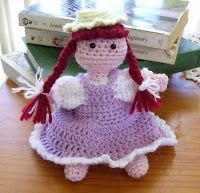 Anne of Green Gables crochet doll-- Free Pattern Downloads