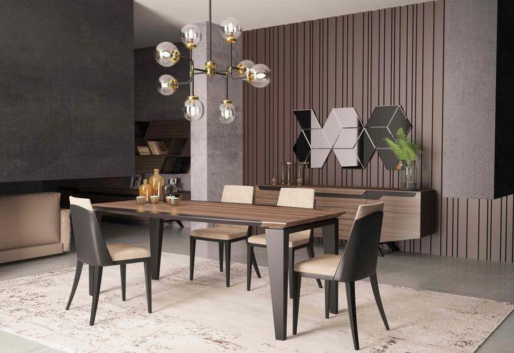 Bergama Yemek Odası.. #modoko #masko #adana #design #designer #tasarım #turkish #creation #macitler #mobilya #yemekodası #sandalye #masa