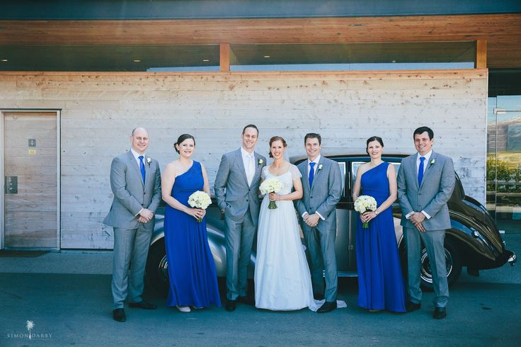 SUITS by T.M.Lewin & BRIDESMAID DRESSES by For Her and For Him