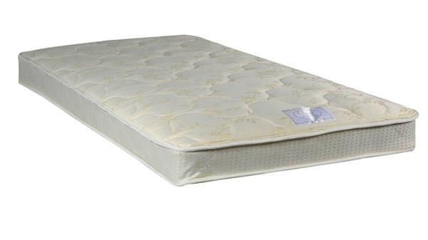 Classic Beige Tight Top Gentle Firm Single Sided Full Mattresses