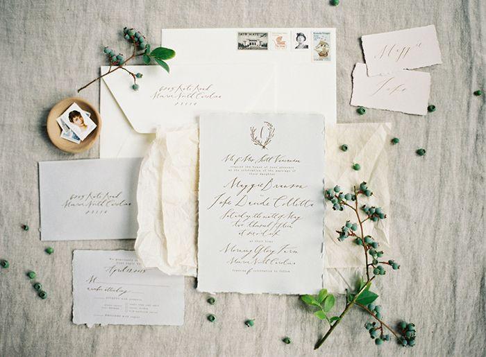 Simplistic Farm Wedding | Follow @klstueb for wedding invitation inspo