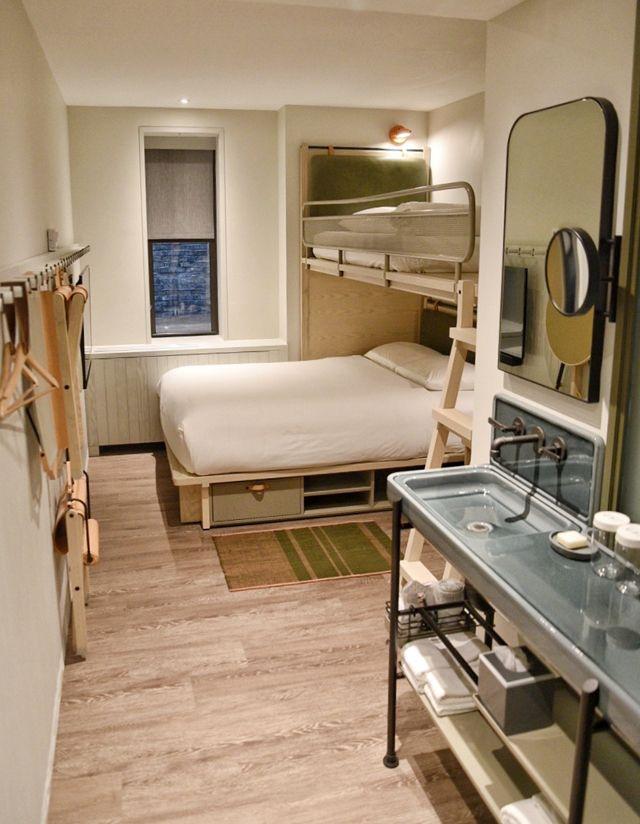 Minimalist Hotel Room: 60 Hour Foodie Weekend In New York City In Residence At