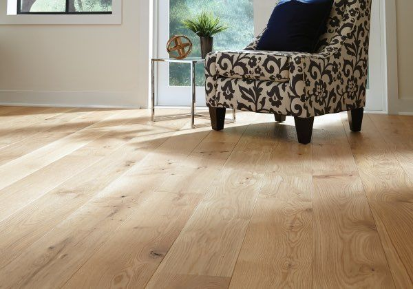 Flooring Trends To Follow in 2017   Carlisle Wide Plank Floors...If you don't want a dark wood floor, the other choice is to go blonde or absolutely natural. This look is fresh and inviting and easy to update.  Learn more on the blog.