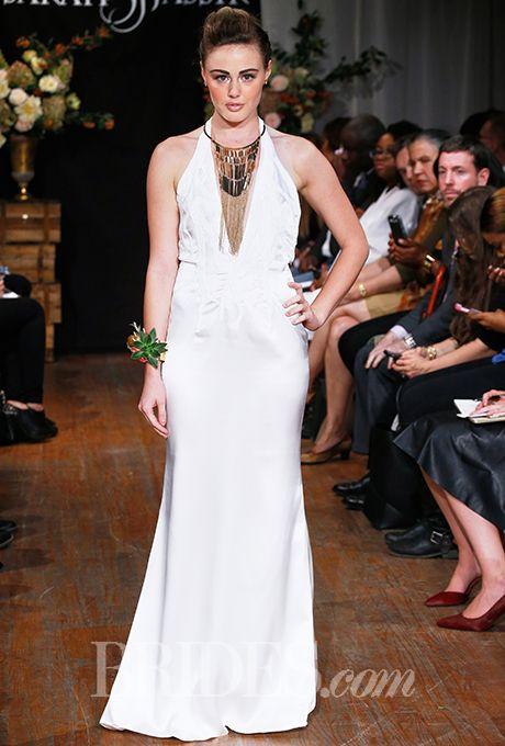 Brides.com: . Wedding dress by Sarah Jassir