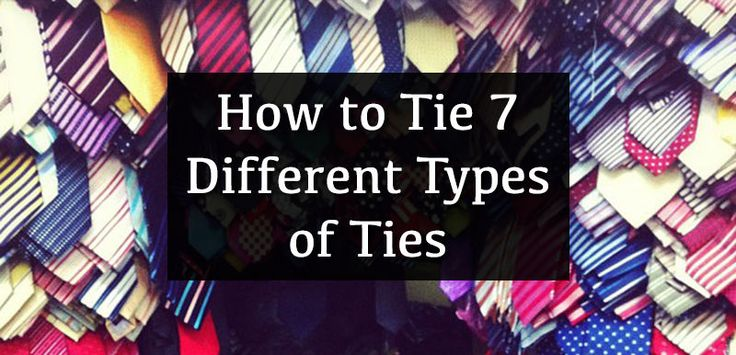 How to Tie 7 Different Types of Ties | eBay