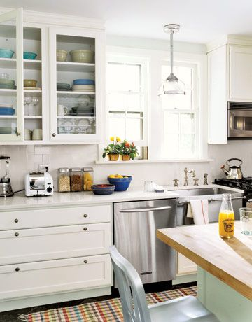 17 best images about dreamy white kitchens on pinterest for Country galley kitchen designs